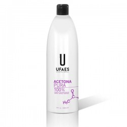 Acetona pura 100% 1000 ml Ufaes
