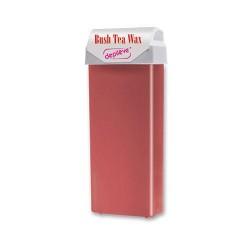 Cera fria con bandas de té rojo en roll-
